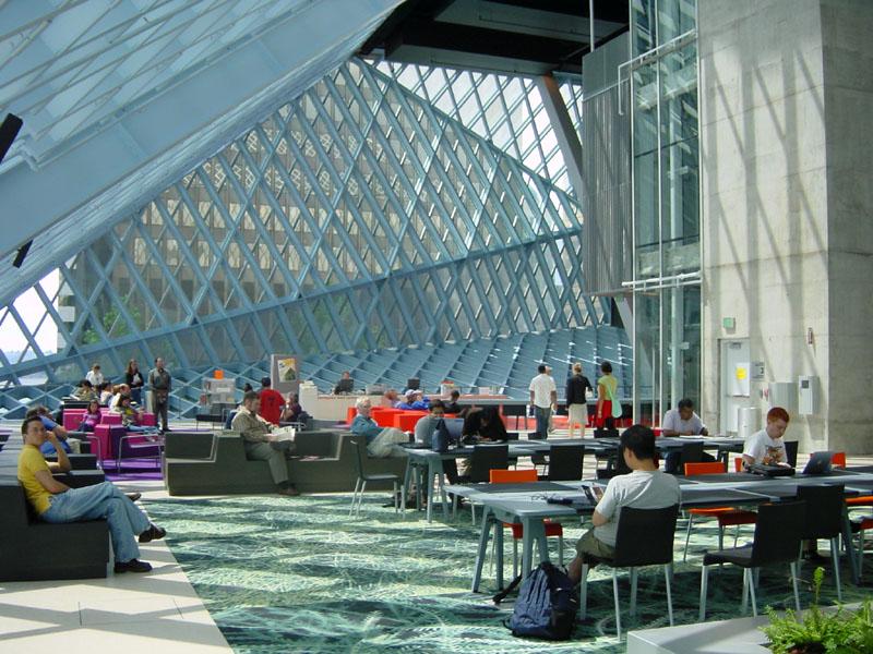 Seattle Public Library Zip 9 Okalux North America