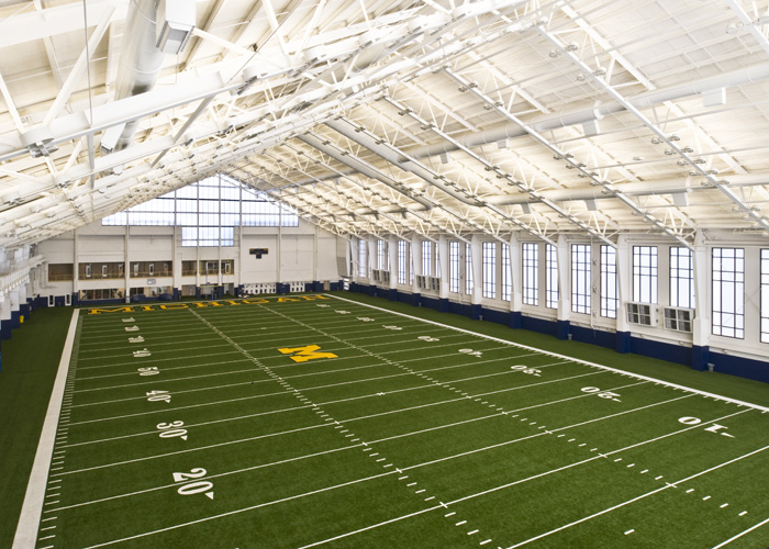 University Of Michigan Football Practice Facility