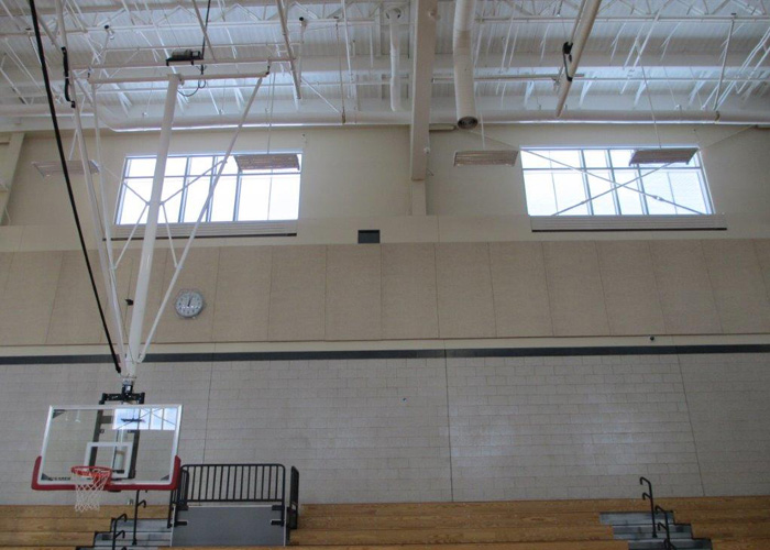 OKASOLAR Wellesley High School Gymnasium